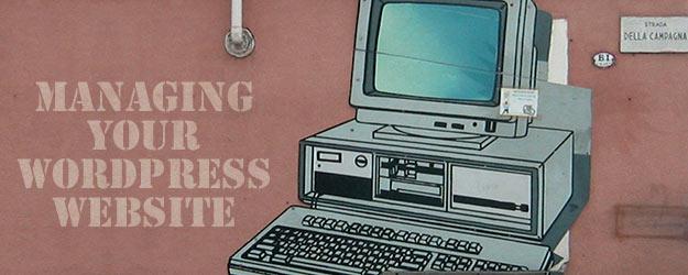 Managing WordPress
