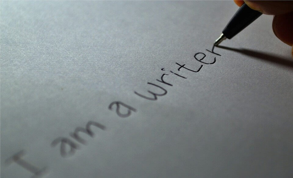 how to start writing about yourself