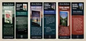 Author Bookmark Design