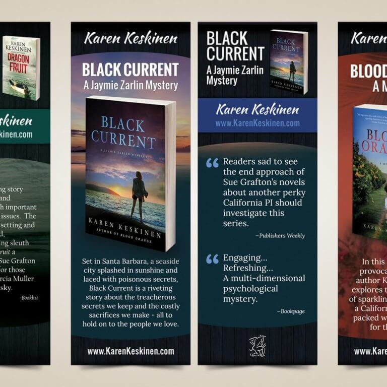 Author Bookmark Design