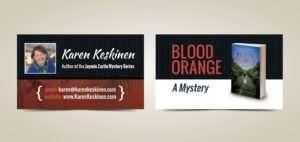 Author Business Card Design