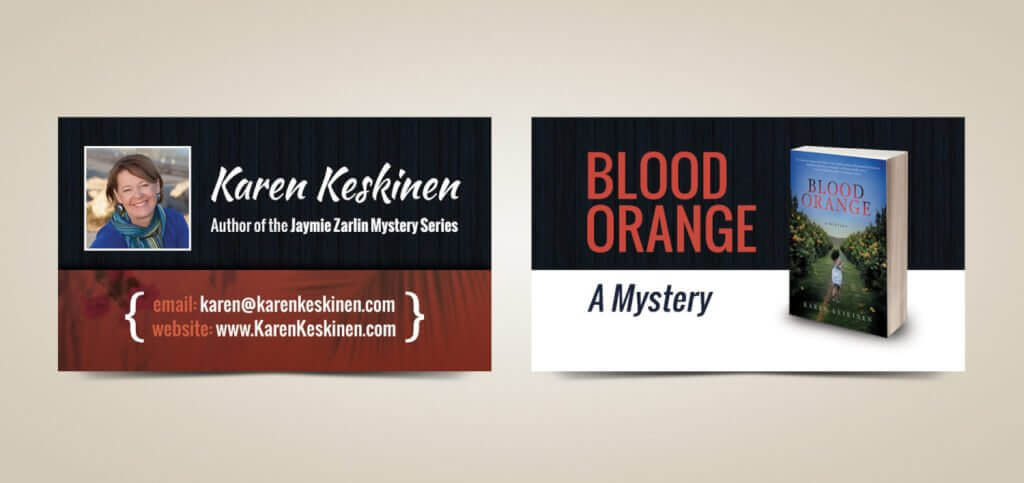 Author Business Card Design