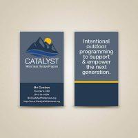 Catalyst Business Card Design
