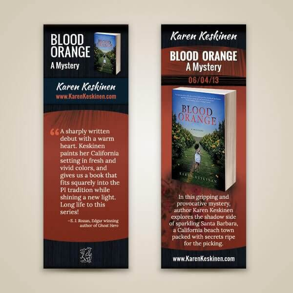 Karen Keskinen Bookmark Design
