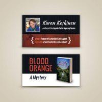 Karen Keskinen Business Card Design