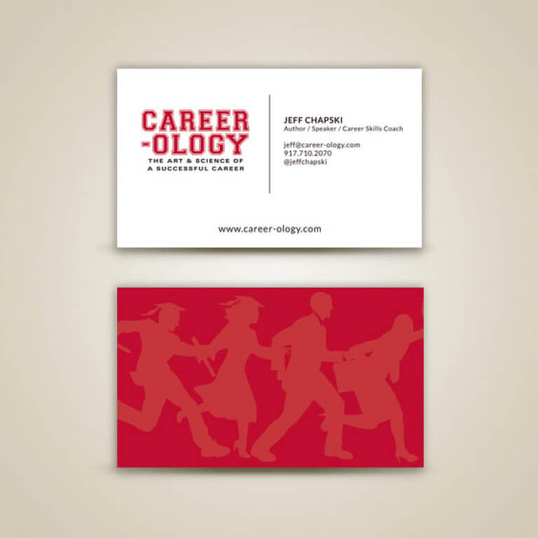 Career-ology Business Card Design