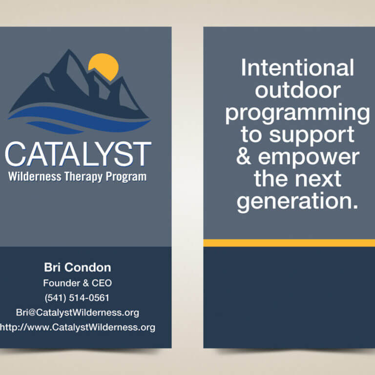 Nonprofit Business Card Design