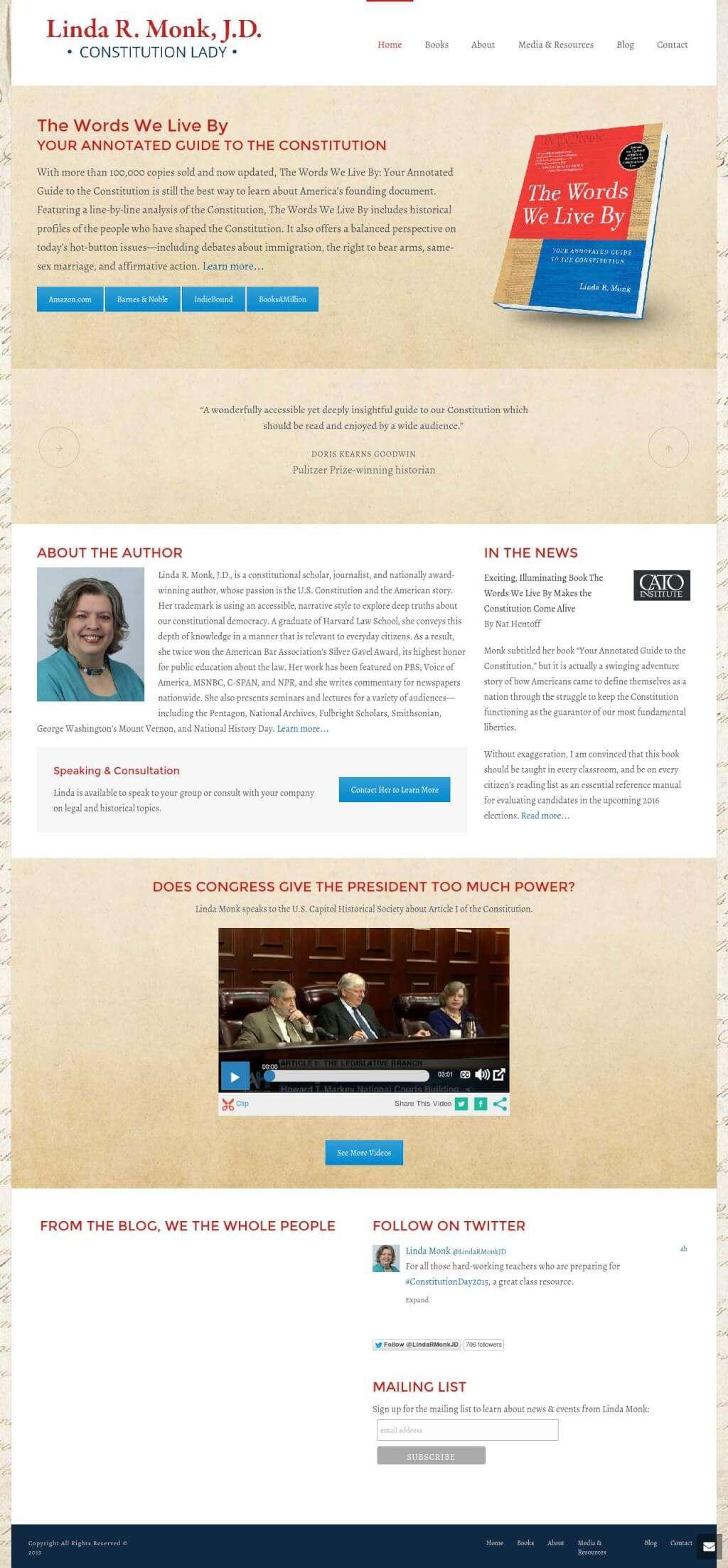 Linda Monk Author Website