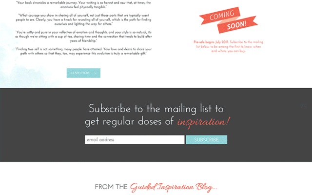 Christina Joubert Author Website Design