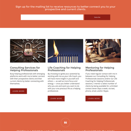 Kristine Anthis Small Business Website Design