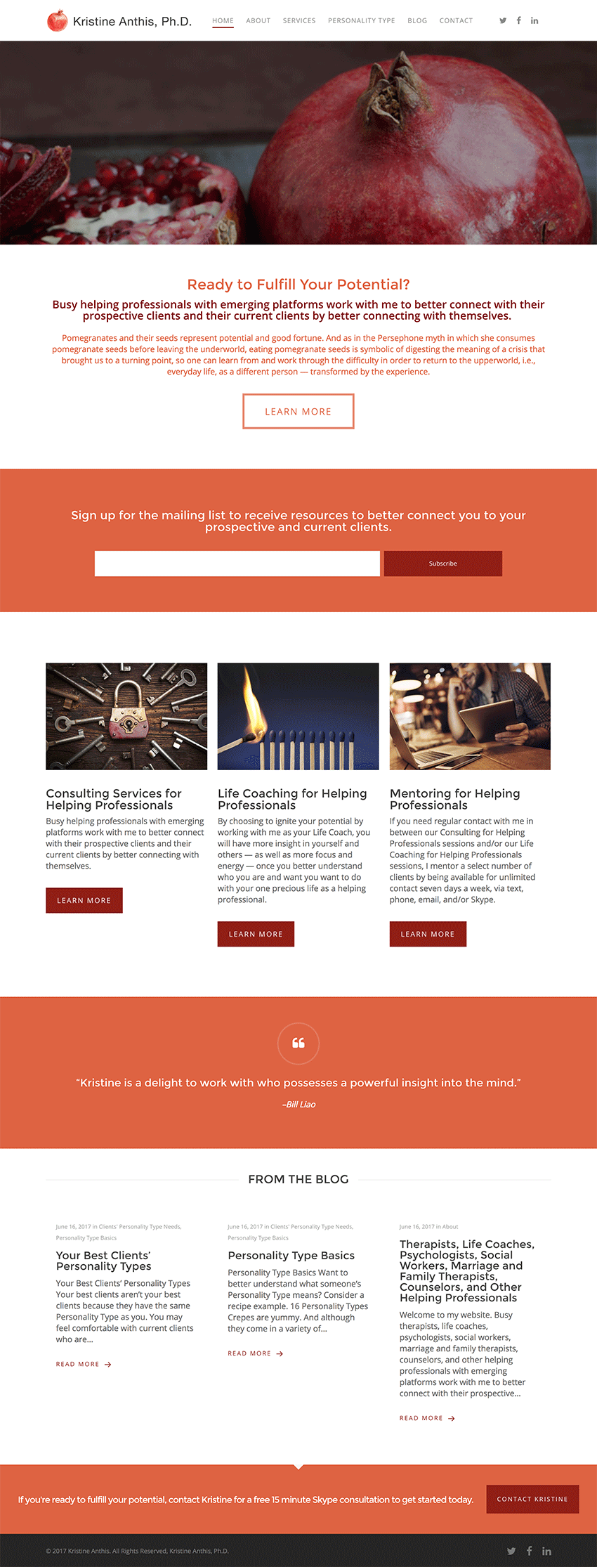 small business wordpress website design