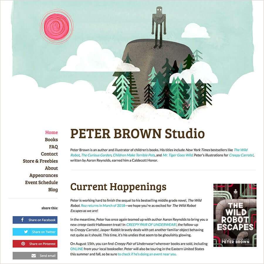 Best Author Websites