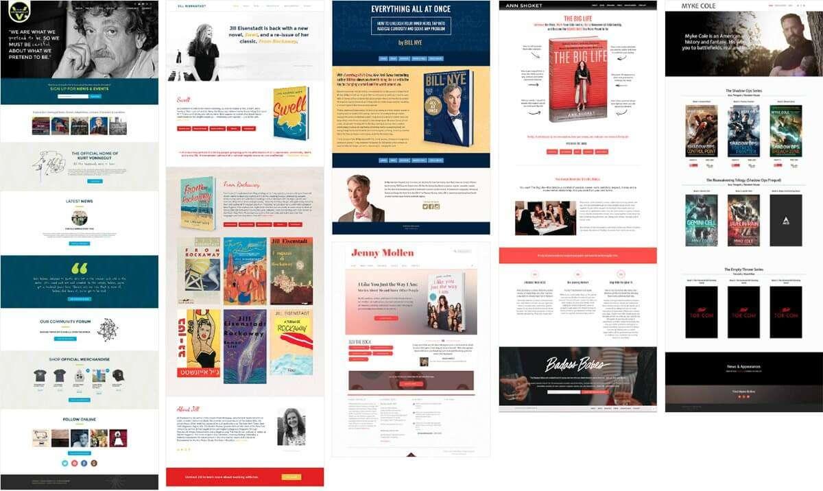 Webpage Designer | Outbox Online Author Website Design Book Website Design
