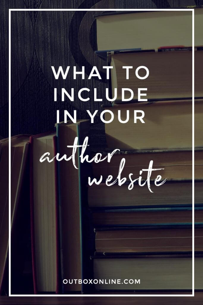 The Best Author Website Content
