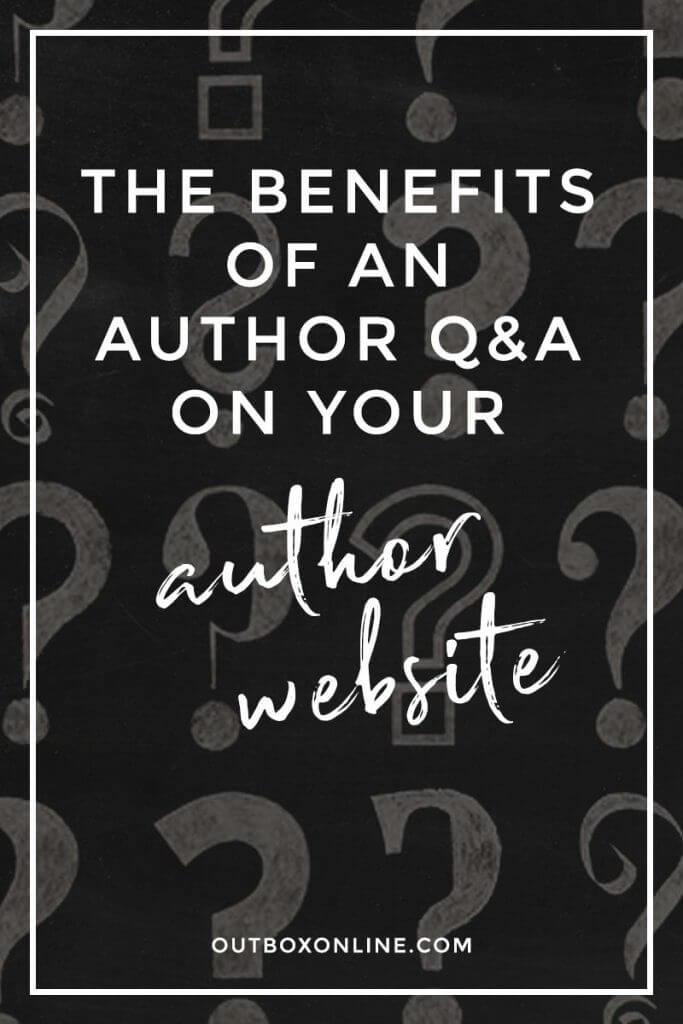 The Benefits of an Author Q&A on Your Author Website