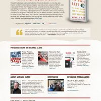 Author Website Design