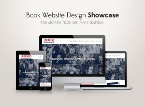Book Website Design Showcase