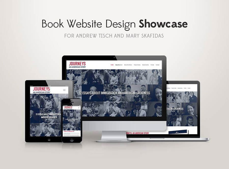 Book Website Design Showcase