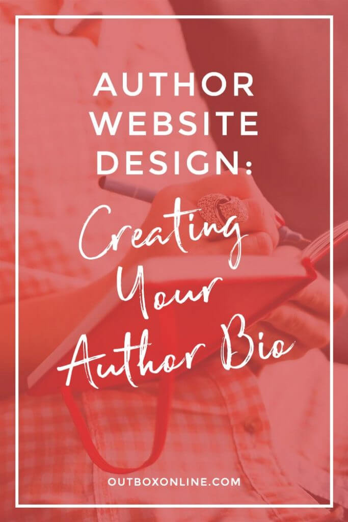 Author Website Design: Creating Your Author Bio