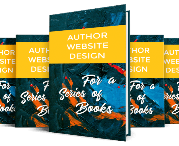 Author Website Design for Authors of a Series