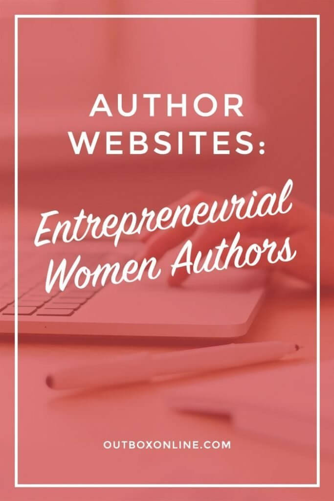 Author Websites - Entrepreneur Women Authors