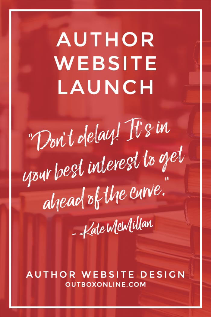 Best time to launch an author website