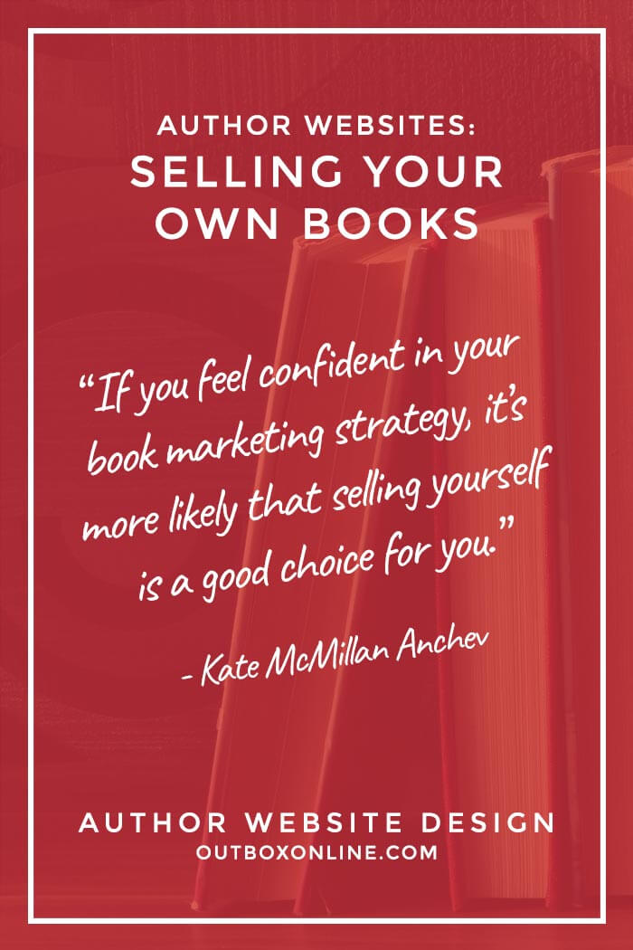 Author Website Design: Selling Your Own Books